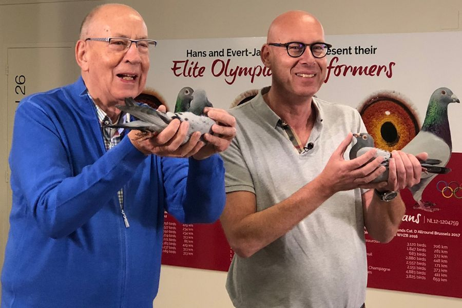 H.en E.J. Eijerkamp - Winnaar  E29 Chateauroux